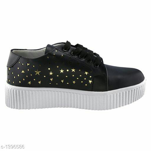 Stylish Girls/Women Shoe in Black Color