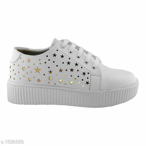Stylish Girls/Women Shoe in White Color